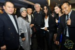 Legendary rock star Hanafie Warren with Madam Som Said's family and friends...
