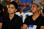 Didicazli and Zaibaktian taking in the event proceedings...