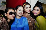 Beautiful ladies seen at the wedding: (from left) Shikin Imran, Netty Fiona, Huda Ali and Fiza O...