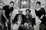 "Singapore's kind-hearted ""gangster"", ""Hakim"" (Syarif Sleeq) and his fiancee, Malaque Mahdaly..."