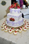 The wedding cake...