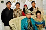 With boss Hassan Salleh and family...