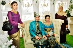 RIA 89.7FM's Brader Bo was in Kuala Lumpur, but his wife, Shikin, and mother-in-law came all the same...