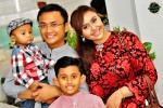 Nona Kirana and family were also spotted at the wedding...