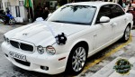 The bridal car courtesy of AB Shaik...