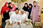 The couple with Fiza's best friends...