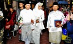 Rafil Kamaruddin (right), the wedding planner...