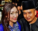Shahrin Azhar and wife...