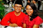 Screenbox's head honcho, Mr. Sujimy Mohamad and wife Haslinda Ali...