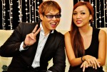 The very sporting couple - Glenn Ong & Jean Danker...