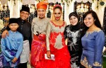 With Dr. Mohd Maliki Osman and family...