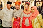 With Ain Society's CEO, Mr. Haji Yusof Md Ismail and wife...