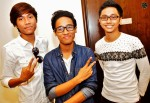 SupamusiQ - From left: Zeeq, Phizz and Haqym...