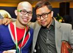 Blogger Abdillah Zamzuri and Rafil Kamaruddin of Manggiz Communication...