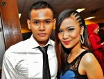 Ize Suliman and Ikah Jamil of local group X-Clusive