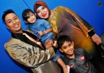 Host Tahar Ghalib (TG) and his beautiful family...