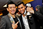 Our homegrown champs - Hady and Awi Rafael...