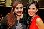 Warna 94.2FM's Nona Kirana and host Sophie Navita...