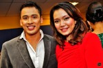 The good-looking television hosts Khairudin Saharom and Hazlina Halim...