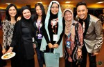 Part of the Warna 94.2FM family - (From left) Ms. Zakiah Halim, Ms. Isadhora Mohd, Ms. Morniyati Tukimin, Ms. Suriani Kassim, Madam Faridah Onn and TG...