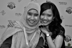 Ms. Suharti Ali and Nursha Ismail...