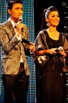 Hosts Fauzie Laily and Marina Yusoff