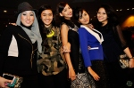 Earlier eliminated contestants - Ziza, Risliani, Elfiana, Ayura and Diana came to support their fellow contestants...