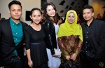 Hyrul Anuar, Janna Jauhar (daughter of Madam Mona Ali), Hazlina Halim, Madam Mona Ali (Mona J) and Shahrin Azhar...