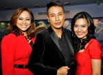 Newscasters past and present: Rita Zahara, Riz Sunawan and Nursha Ismail...