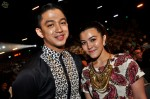 Syarif (SleeQ) and his fiancee, Malaque Mahdaly...