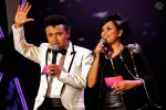 """Hosts for the """"Walk of the Stars"""" segment - A B Shaik and Fiza O..."""