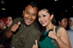 Marina Yusoff and hubby Adel Dzulkarnaen giving the thumbs up to an excellent show...