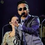 Hafiz Suip on his own this time after getting his hands on the Most Popular Regional Artiste award...