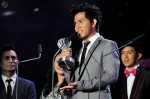 """Cakra Khan with his second award for the night - Best Song (Indonesia) for """"Harus Terpisah""""..."""