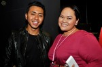 Local actor Hafiz Nasir and Zuraidah Taib from Mediacorp Suria...