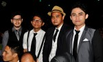 """Members of Diorama, nominated for Most Popular Singapore Song for """"Hipokrasi""""..."""