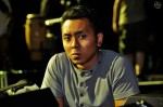 Local actor Hafiz Nasir, who is part of the production team as well...