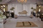 The dais... It was too beautiful for most of us to step on with our shoes on...