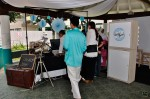 Guests penned their well-wishes to the newly-weds over at Vintagraph's photo booth...