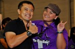 Official photographer Wilson and Mediacorp Suria's Zuraidah Taib...