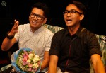 Ashmi and Junaidi giving their congratulations to Imran via Mediacorp Suria's FB page...