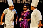 Hosts Khairudin Samsudin, Dalina Jaapar and A. B. Shaik...