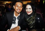 The current host of RE:TV and upcoming host for JUS! Season 6 - Ainon Talib and hubby Erwan Gunawan...