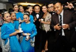 Viva Elektra hosts with the Sri Warisan dancers and their in-charge, the husband and wife team of Adel Dzulkarnaen and Marina Yusoff...
