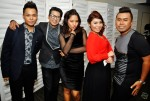 Hyrul Anuar, Ashmi Roslan, Syirah Jusni and back-up singers on the night, Afiqah and Azhar Raz...