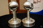 The APM trophies up for grabs...