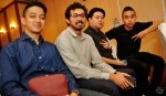 SleeQ along with Syaheed and Abu Sufyan, also from Bedsty Music Group...