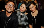 GiovanniHomme's founder Rafil Kamaruddin, celebrity make-up artiste Mimi Jasmine and RIA 89.7FM's Fiza O were also in attendance...