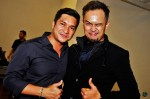 Keith Foo was all charm and smiles throughout, even goofing around with Nick Mikhail for this photograph...