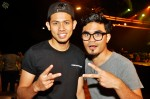 Hosts Nabil & Dyn Norahim goofing around after rehearsals were done...